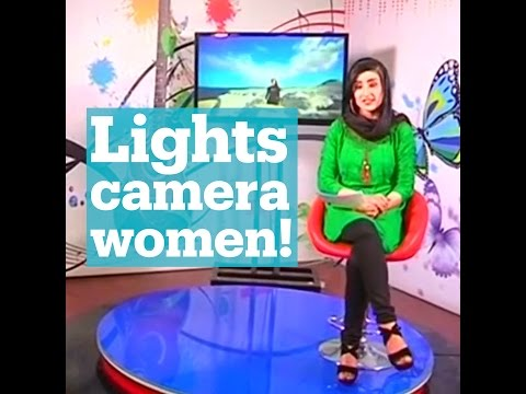 Afghan women risk their lives for new TV channel, Zan TV (Women's TV) is dedicated to women.