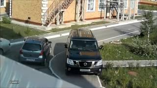 Тестовая видеозапись с уличной AHD камеры из комплекта IVUE-D5004 AHC-B2