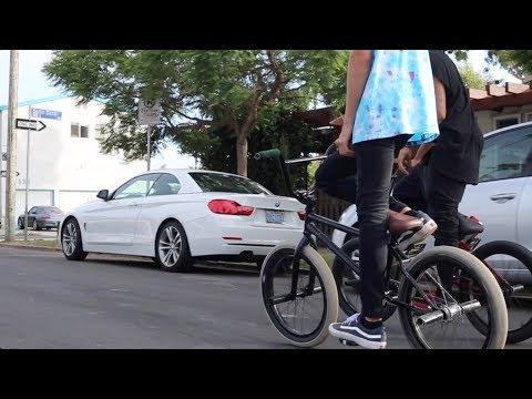 BMX Street Ride through Venice Beach & Santa Monica | Abbot Kinney Blvd | 60fps
