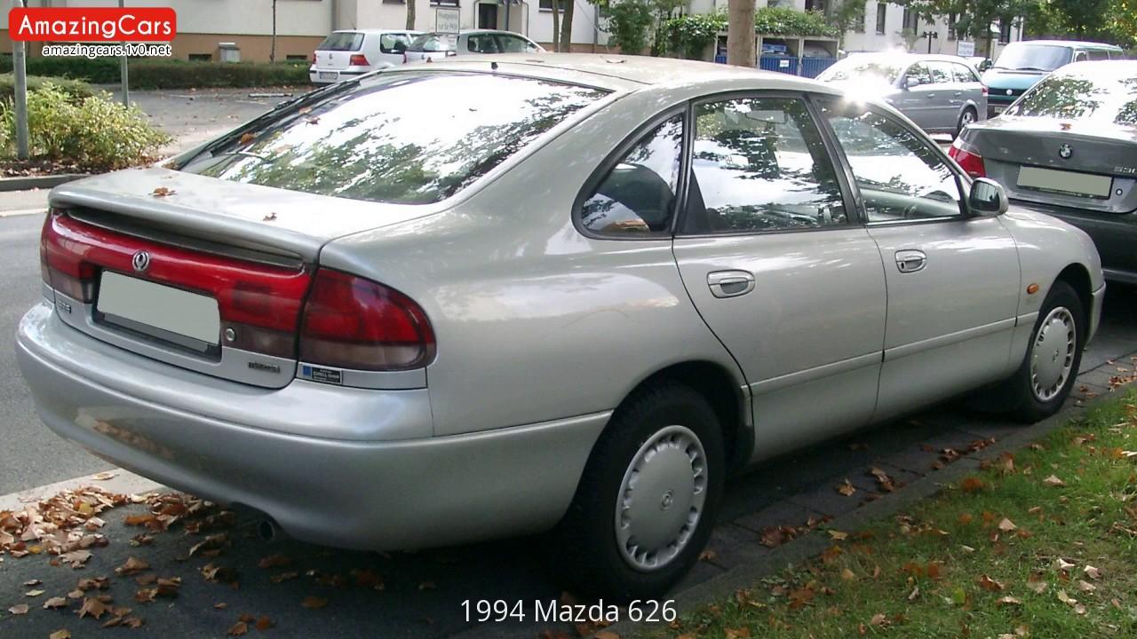 1994 Mazda 626 - YouTube