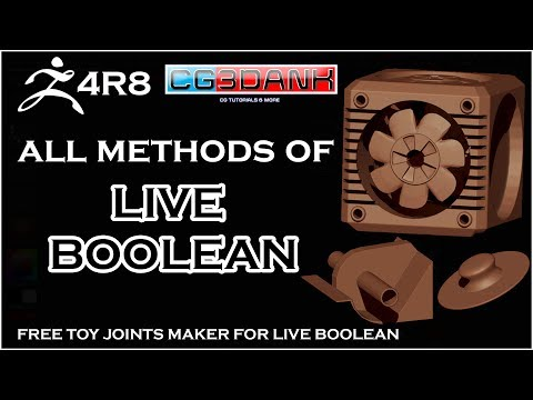 ZBRUSH TUTORIAL 4R8_ALL METHODS TO USE LIVE BOOLEAN(DETAIL)