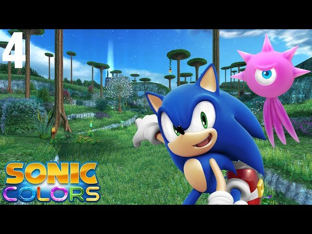 Sonic Colors (Wii) [4K] - Story Playthrough (4/7) - Planet Wisp
