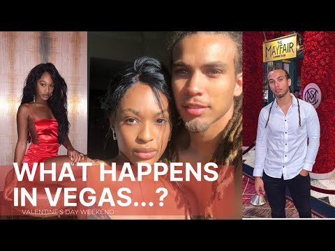 WHAT HAPPENS IN VEGAS....? Valentine's Day Weekend Vlog