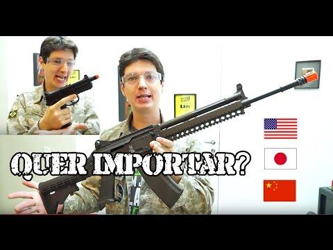 Começar no Airsoft como funciona a Importação Cii e Varias Guns!