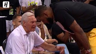 LeBron James & Jerry West Had a Talk after Kawhi's Decision | July 6, 2019 Summer League