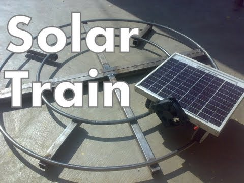 mechanical engineering project solar train