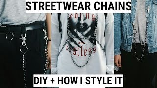 DIY CHAINS ( streetwear) // EUGENE MALABAD (PHILIPPINES)