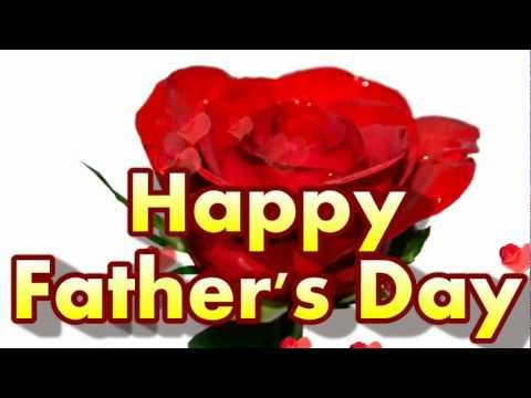 Free Happy Father's Day Flower Greeting Card 2018 | I Love You Daddy Father's Day Ecard