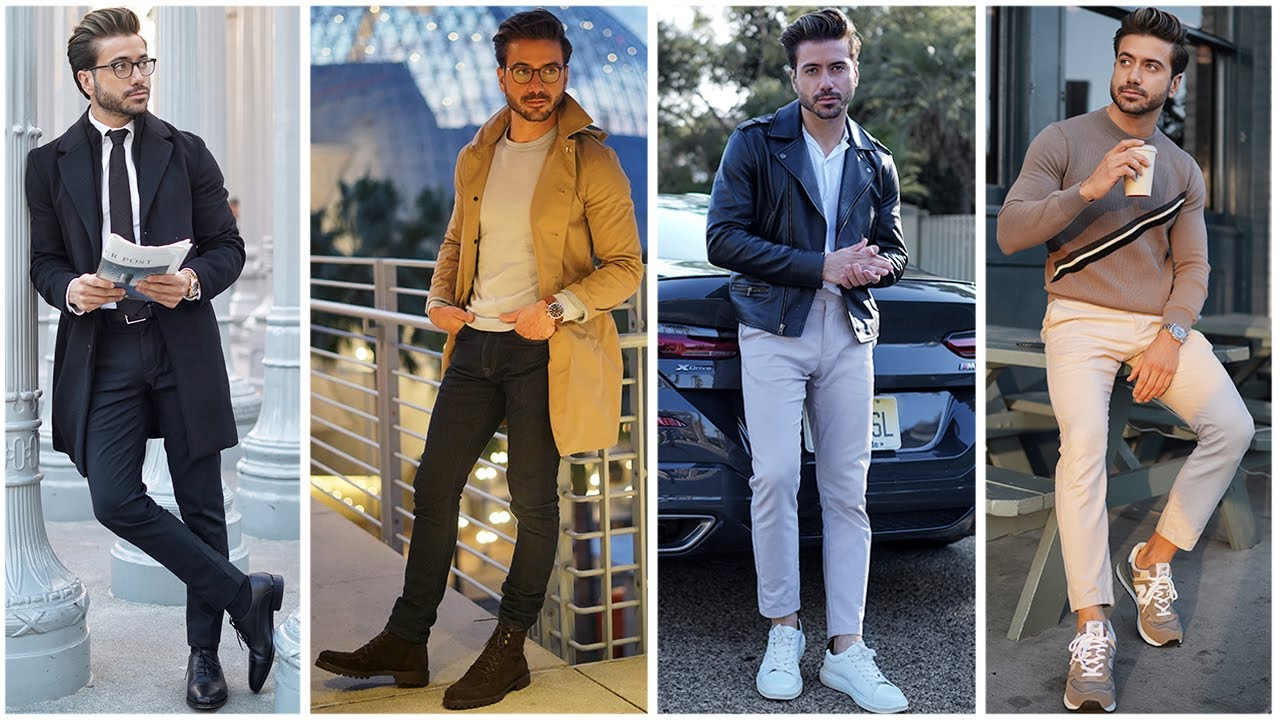 4 Easy Awesome Men's Outfits