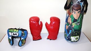 Ben 10 Boxing Set With Punching Bag Helmet