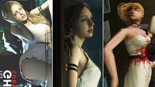 Katherine Real Story VS Non Canon Story in Resident Evil -Ghost Survivors- Resident Evil 2 Remake