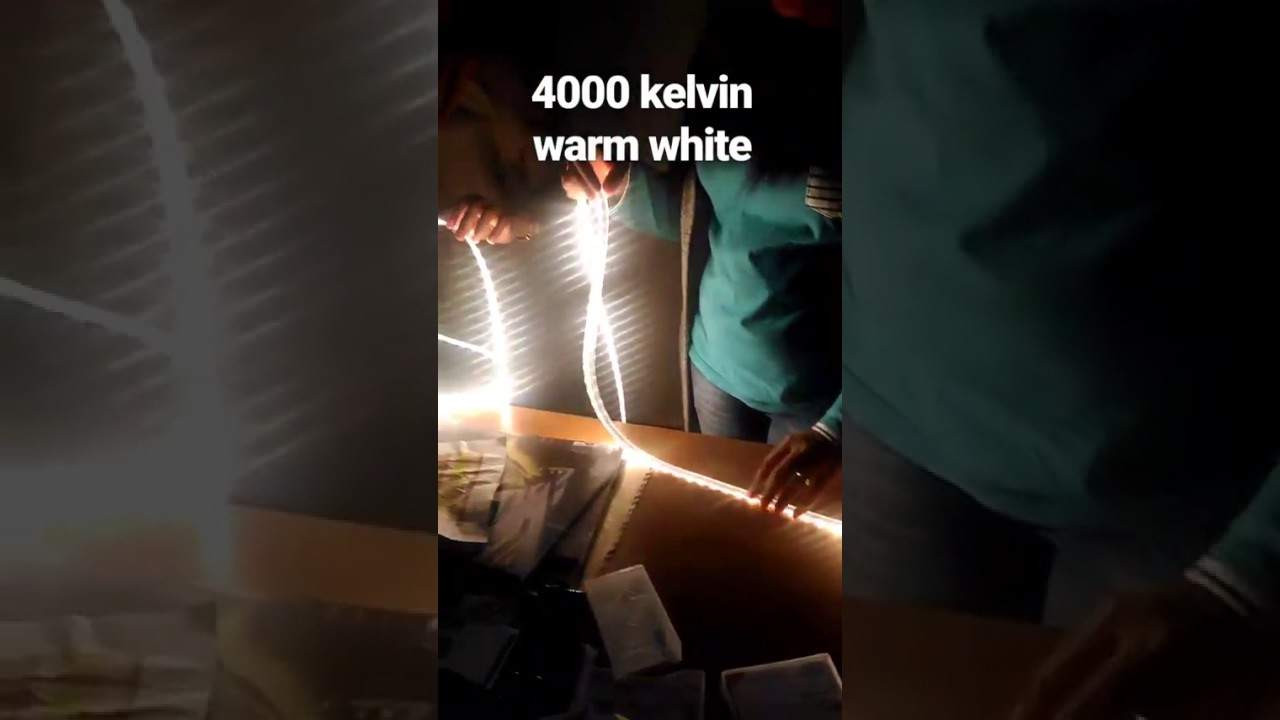 4000 Kelvin Tempo Linear Flex Philips Led Strip 4000 Kelvin Warm White Color