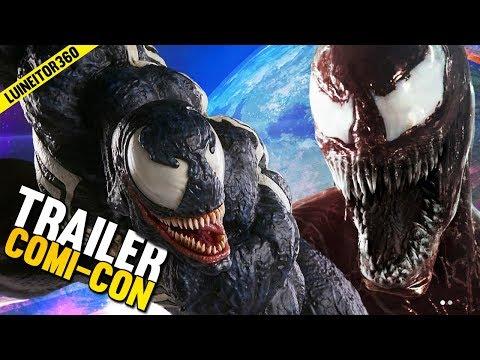 VENOM Comic Con Trailer  Easter eggs de Spiderman, Vengadores, Carnage y más!