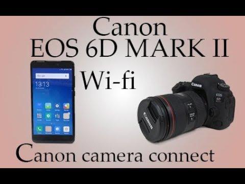canon eos 6d mark ii wifi with smartphone canon camera. Black Bedroom Furniture Sets. Home Design Ideas