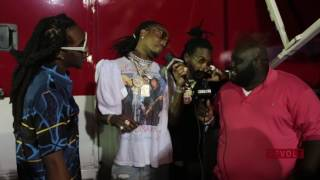 Migos Prove Too Big For Small Stage At Rolling Loud