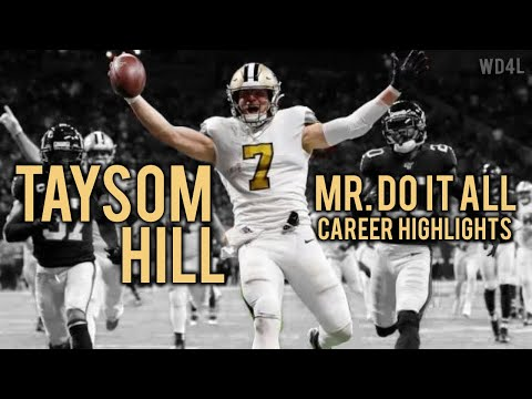 Taysom Hill Ultimate Saints Highlights | 'Mr. Do It All'