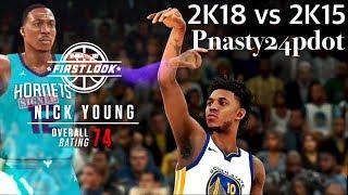 NBA 2K18 vs NBA 2K15 vs NBA 2K14 - Dwight Howard & Nick Young Screenshot Compairson