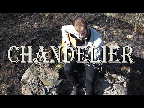 Sia - Chandelier (easy fingerstyle arrangement + TABS) - YouTube