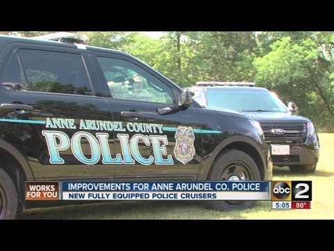 Anne Arundel County Police Department unveils new police cruisers
