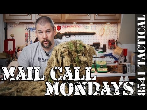 Mail Call Mondays Season 2 #48 - Marine Sniper Ghillie Suit Overview