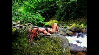 Национальный заповедник Мтирала в окрестностях Батуми. Водопад. Джунгли. Природа. Грузия. Georgia.
