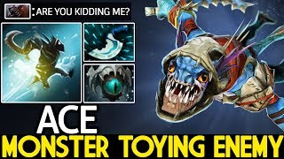 ACE [Slark] Monster Toying Enemy WTF Annoying Carry 7.21 Dota 2