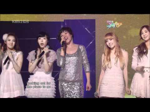 SNSD \u0026 Ju Hyun Mi ♥ Crush + Dancing Queen Live HD