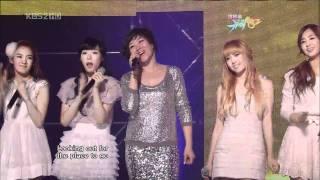 Gambar cover SNSD & Ju Hyun Mi ♥ Crush + Dancing Queen live HD