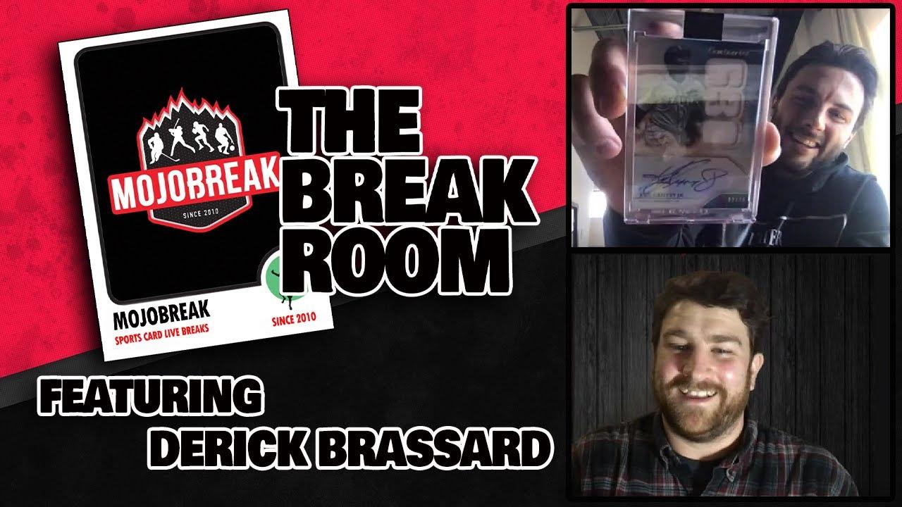 Derick Brassard Got His Teammates Hooked on Sports Cards | The Break Room #2