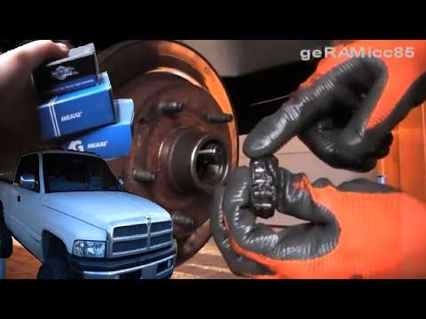 RADLAGER SELBER WECHSELN | DETAIL AUTO REPARATUR ANLEITUNG | TIPPS ZUM EINPRESSEN BEIM RAM PICKUP