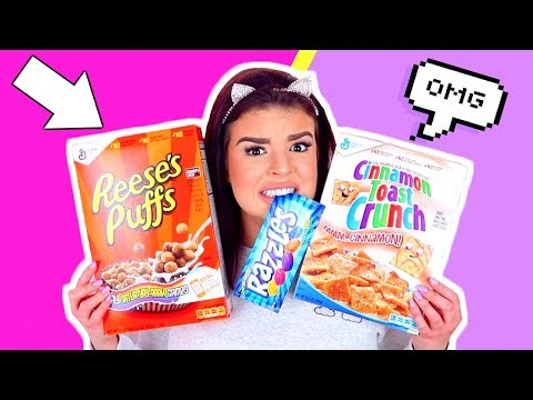 AUSTRALIAN TRIES AMERICAN CANDY! Trying American Snacks and Food!
