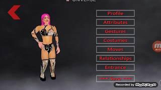 Sasha banks wm34 attire