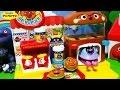 アンパンマン アニメ❤おもちゃ ハンバーガー屋さん♪で遊んでみた!Anpanman Toys Animation