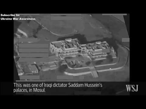 ISIS using Saddam Hussein Palace bombed by British RAF