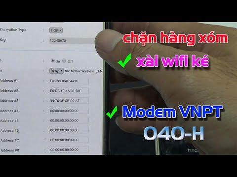 hack wifi được đặt mật khẩu theo chuẩn wpa wpa2 - Cách Chặn Người Khác Xài Ké WiFi Mạng VNPT 040-H