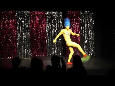 Marge Madness: Simpsons Burlesque