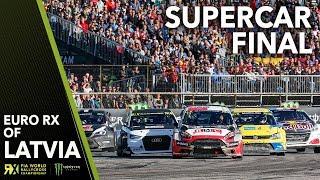 Euro RX Supercar Final | 2018 Neste World RX of Latvia