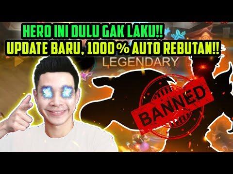 UPDATE BARU, 1000% HERO INI REBUTAN!! BURUAN PAKE SEBELUM DINERF LAGI!! - Mobile Legends