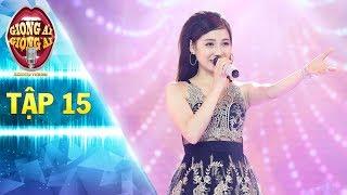 Giọng ải giọng ai 2 | tập 15: Hot girl hát Ngại Ngùng siêu dễ thương làm Trấn Thành