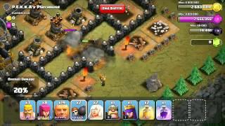 Clash of Clans: Campaign Tutorial- Lvl 49 Pekkas Playhouse