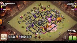 Dragon Attack | Town Hall 9 | Clash of Clans | Rakib Kishore | Elite Riders