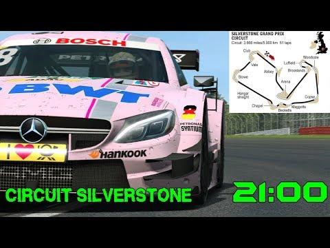 Circuito Silverstone : Gara pre campionato dtm circuito di silverstone youtube