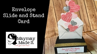 Stand Up Exploding Envelope Card Tutorial {Thanks Aunt Dottie!}