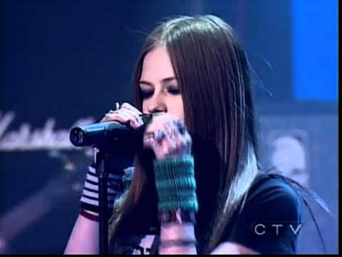 Avril Lavigne - Losing Grip (Juno Awards 2003)