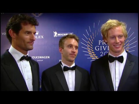 2015 FIA Prize-Giving - WEC champions