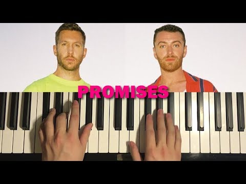 HOW TO PLAY - Calvin Harris, Sam Smith - Promises (Piano Tutorial Lesson)
