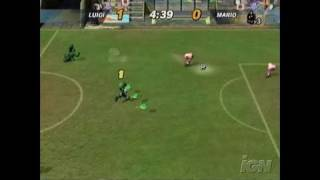 Super Mario Strikers GameCube Gameplay - Strikers Video 1