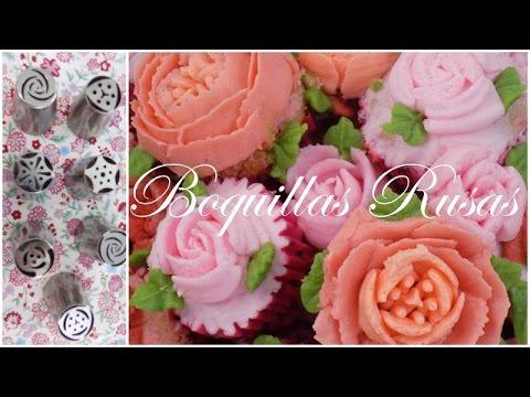 Tips para usar Boquillas Rusas| Bouquet de flores