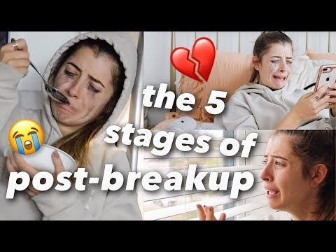 The 5 Stages of Post-Breakup!!
