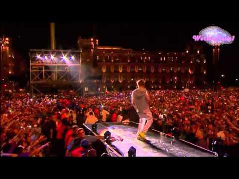 Justin Bieber - Ü Smile (En El Zocalo De México Oficial HD)